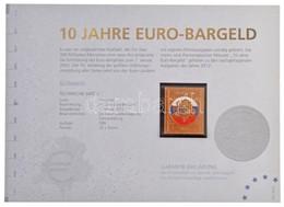Németország 2012. 'Szlovákia / 10 éves Az Euró' Aranyozott, Részben Festett Bélyegérem, Tanúsítvánnyal T:1 Germany 2012. - Coins & Banknotes