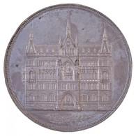 Osztrák-Magyar Monarchia 1885. 'Sünhaus Emlékérem' Zn(?) Emlékérem. 'HOMINVM TREDERTORVM SEPTVACINTA SEX. QVI. ANNO MDCC - Coins & Banknotes
