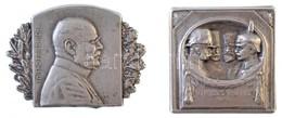 Osztrák-Magyar Monarchia 1915. Központi Hatalmak  Tombak Jelvény 'VIRIBVS VNITIS 1915 - FRANZ JOSEF-MEHMED V-WILHELM II- - Coins & Banknotes