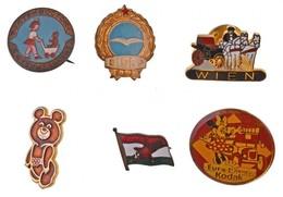 6 Db-os Vegyes Kitűző Tétel, Közte 'Disney Kodak' Valamint 'Játékboltok A Gyermekekért' Kitűző T:1 - Coins & Banknotes