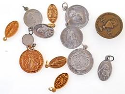 13db-os Vegyes Egyházi Témájú Medál és Jelvény Tétel T:2 - Coins & Banknotes