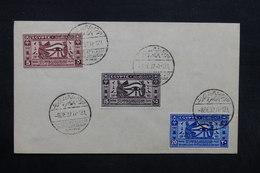 EGYPTE - Oblitération Commémorative Du Caire Sur Enveloppe En 1937 , Affranchissement Plaisant - L 32369 - Égypte