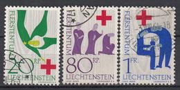 LIECHTENSTEIN - Michel - 1963 - Nr 428/30 - Gest/Obl/Us - Liechtenstein