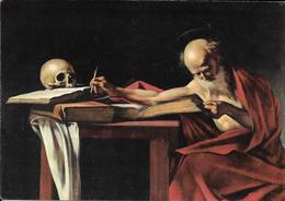 Oeuvre De Caravaggio, Le Caravage, Saint Jérôme, Crâne, Squelette - Schilderijen
