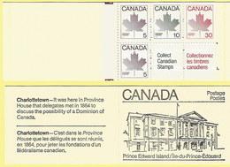 Kanada 1982: Ahornblatt: 2x Markenheft Nr. MH 87 Mit H-Bl. 101-pf #H06 - Kanada