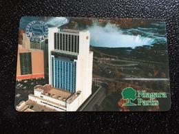 Hotelkarte Room Key Keycard Clef De Hotel Tarjeta Hotel  SHERATON FALLSVIEW CASINO SHUTTLE - Telefonkarten