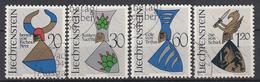 LIECHTENSTEIN - Michel - 1966 - Nr 465/68 - Gest/Obl/Us - Liechtenstein