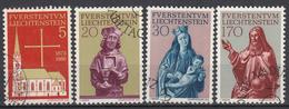 LIECHTENSTEIN - Michel - 1966 - Nr 470/73 - Gest/Obl/Us - Liechtenstein