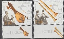 Croatie Europa 2014 N° 1048 Et 1049 ** Instruments De Musique - Europa-CEPT