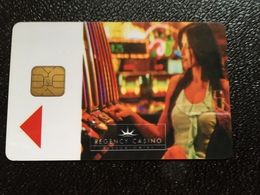 Hotelkarte Room Key Keycard Clef De Hotel Tarjeta Hotel  REGENCY CASINO THESSALONIKI - Phonecards