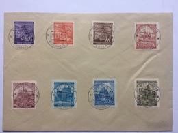 BOHEMIA & MORAVIA 1941 Cover With Prague Handstamps - Cartas