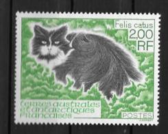 1994 - 186**MNH - Chat - Französische Süd- Und Antarktisgebiete (TAAF)