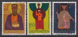 LIECHTENSTEIN - Michel - 1968 - Nr 500/02 - Gest/Obl/Us - Liechtenstein