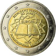 République Fédérale Allemande, 2 Euro, Traité De Rome 50 Ans, 2007, FDC - Allemagne