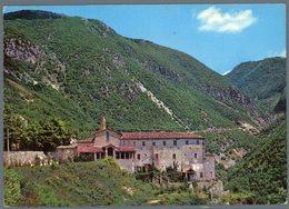 °°° Cartolina N. 2 Rieti Santuario Francescano Di Poggio Bustone Viaggiata °°° - Rieti