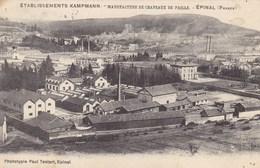 Vosges - Etablissements Kampmann - Manufacture De Chapeaux De Pailles - Epinal (France) - Epinal