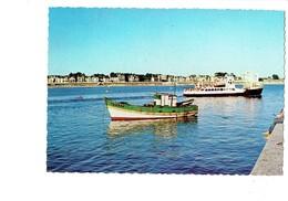 Cpm - 56 - Presqu'ile De Quiberon  - Port-Maria Départ Bateau Du Bateau Belle-Ile - N°564 Belles Edi De Bretagne - Quiberon