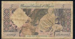 ALGERIA P122 5 DINARS 1964 FINE - Algérie