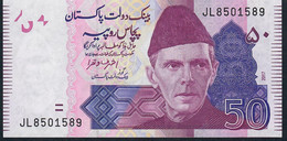 PAKISTAN P47m 50 RUPEES 2017 #JL Signature 19 - Pakistan
