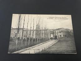 L'Ardeche Pittoresque Illustrée - 3 - PLATS Avenue De St Sylvestre - 1923 Timbrée - France