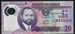 MOZAMBIQUE P149a 20 METICAIS 2011  #AB UNC. - Mozambique