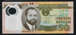 MOZAMBIQUE P150a 50 METICAIS 2011  #BA UNC. - Mozambique
