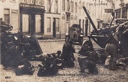 619 Anvers La Guerre Retraite D Anvers Soldats Belges Combattant Dans Une Rue - Antwerpen