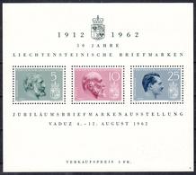 LIECHTENSTEIN - Michel - 1962 - BL 6 - MNH** - Blocs & Feuillets