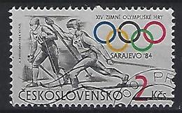 Czechoslovakia 1984  Winter Olympics Sarajevo (o) Mi.2751 - Czechoslovakia