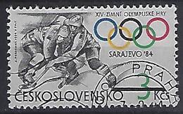 Czechoslovakia 1984  Winter Olympics Sarajevo (o) Mi.2752 - Czechoslovakia