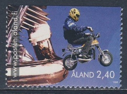 Aland 1998 Mi 136 SG 132 ** Boy On Moped / Mopedfahren - Youth Activities / Jugendaktivitäten - Kindertijd & Jeugd