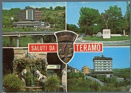 °°° Cartolina N. 85 Saluti Da Teramo Vedute Nuova °°° - Teramo