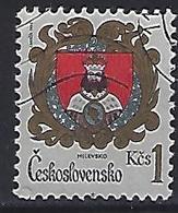 Czechoslovakia 1984  Arms: Milevsko (o) Mi.2756 - Czechoslovakia