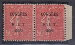 FRANCE 1930:   Paire Du  Y&T 264, BDF, Neufs ** - Frankrijk
