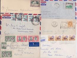 NORTHERN AND SOUTHERN RHODESIA NYASALAND RHODESIE - Beau Lot De 24 Enveloppes Timbrées Petit Format Stamped Mail Covers - Grossbritannien (alte Kolonien Und Herrschaften)