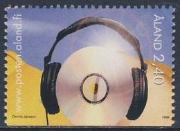 Aland 1998 Mi 138 SG 134 ** CD Disk And Headphones / Musikhören - Youth Activities / Jugendaktivitäten - Andere