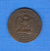 NAPOLEON 3   ...  5  CENTS  1870 - C. 5 Centimes