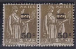 FRANCE 1934:   Paire Du  Y&T 298, Neufs ** - Frankrijk