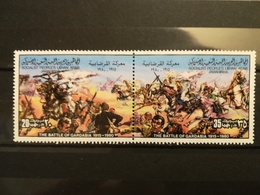 FRANCOBOLLI STAMPS LIBIA LIBYA 1980 MNH** NUOVI SERIE COMPLETA BLOCCO RESISTANCE ITALIAN COLONIZATION LIBYAN - Libia
