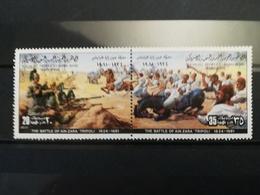 FRANCOBOLLI STAMPS LIBIA LIBYA 1981 MNH** NUOVI SERIE COMPLETA BLOCCO RESISTANCE ITALIAN COLONIZATION LIBYAN - Libia