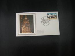 """BELG.1983 2090 FDC Soie/zijde ( Brugge ) : """" Heilig-Bloedprocessie Te Brugge / Procession Du Saint-sang à Bruges """" - FDC"""
