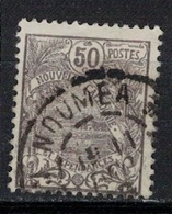 NOUVELLE CALEDONIE           N° YVERT  :   121    OBLITERE     ( OB   03/58  ) - New Caledonia