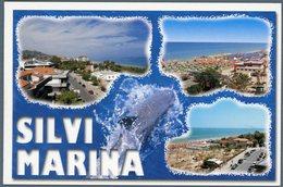 °°° Cartolina N. 88 Silvi Marina Vedutine Viaggiata °°° - Teramo