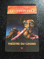 Hotelkarte Room Key Keycard Clef De Hotel Tarjeta Hotel  HILTON LAC LEAMY GATINEAU Quebec  CASINO - Telefonkarten