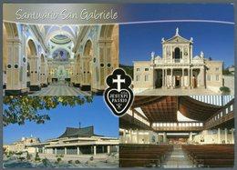 °°° Cartolina N. 89 Santuario Di S. Gabriele Viaggiata °°° - Teramo