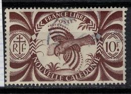 NOUVELLE CALEDONIE           N° YVERT  :   242  OBLITERE     ( OB   03/58  ) - New Caledonia