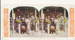 STEREOVIEW - # 179, Kyoto, Japan.  Kyomizu Temple. WORLD SERIES, By KAWIN, 1905 - Stereoscoop