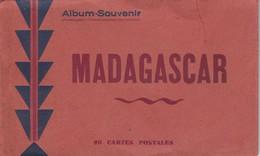 Album-souvenir Madagascar - 20 Cartes Postales ( Voir Photos Quelques Exemples) - Madagascar