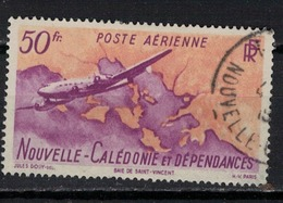 NOUVELLE CALEDONIE           N° YVERT  :   PA 61      OBLITERE     ( OB   03/58  ) - Airmail