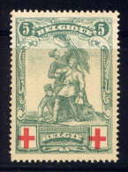 BELGIQUE - 126* - CROIX ROUGE / MONUMENT DE MERODE - 1914-1915 Red Cross